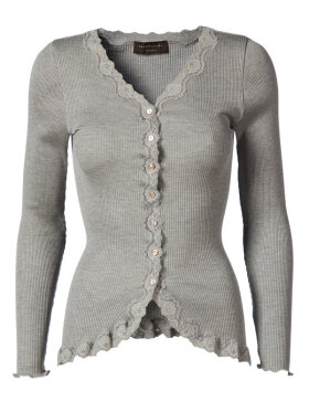 Rosemunde - SILK CARDIGAN REGULAR