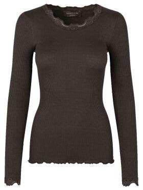 Rosemunde - Silk T-shirt LS